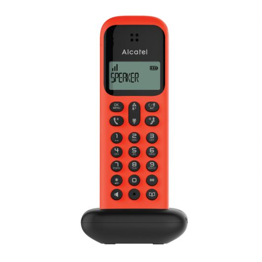 Ασύρματο τηλέφωνο Κόκκινο D285