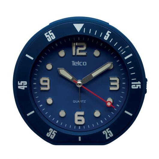 Αναλογικό ρολόι με rubber Μπλε 2809