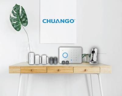 Ασύρματο σύστημα συναγερμού CHUANGO από την  LAMDA E-ELECTRONICS.